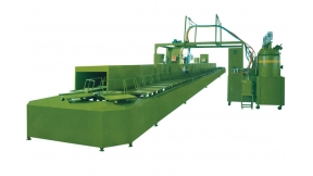 Sole Forming Injecting Machine With Annular Production Line