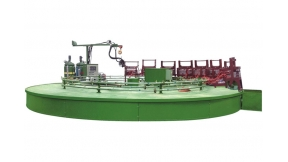 Sponge Foaming Machine With Production Line